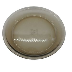 Pyrex-Corningware Amber Brown Pie Plate, 9in